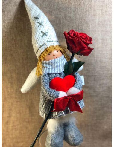 Muñeca con Rosa