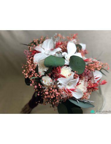 Ramo Gardenia blanca
